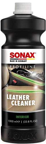 SONAX 02813000 PROFILINE LeatherCleaner Espuma limpiadora, 1 Litro extra fuerte para tapicería de cuero liso pigmentado