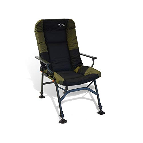 CarpOn Stuhl extra Heigh Camping Einstellbar Carp Fishing Chair 130kg