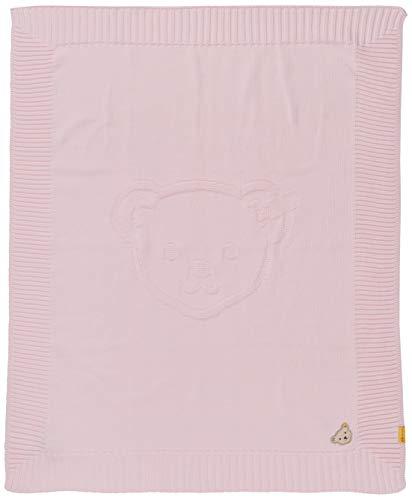 Steiff Mädchen Decke Strick Halstuch, Rosa (Barely Pink 2560), (Herstellergröße: 999)