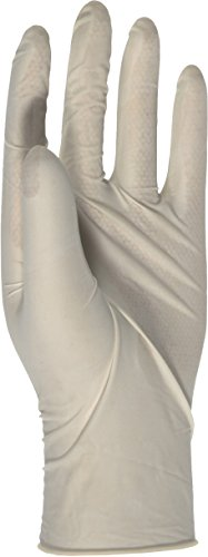 Boss Guard 85 Latex Disposable Gloves, One Size Fit All (Case of 144)