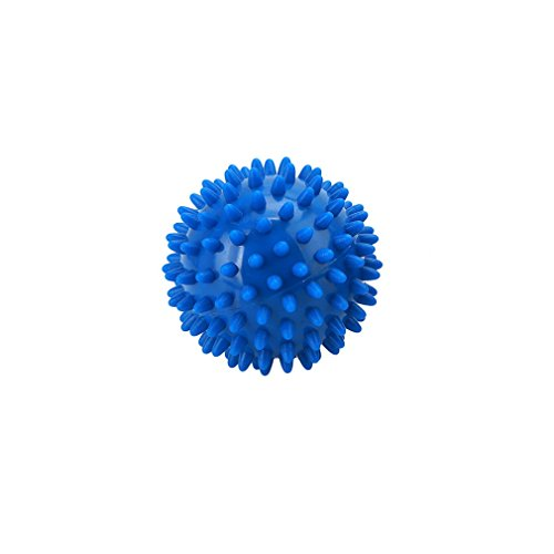 LALANG Massagekugel Igelball Reflexzonen Massage Selbstmassage (Blau, 7cm)