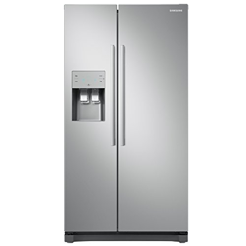 Samsung RS50N3513SA/EU American Fridge Freezer - Graphite
