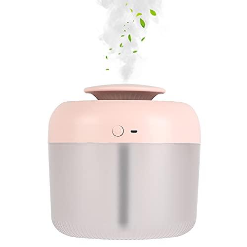Cufun Cool Mist Humidificadores para dormitorio, tanque de agua de 2,5 L, humidificadores de iones plateados, silenciosos, apagado automático