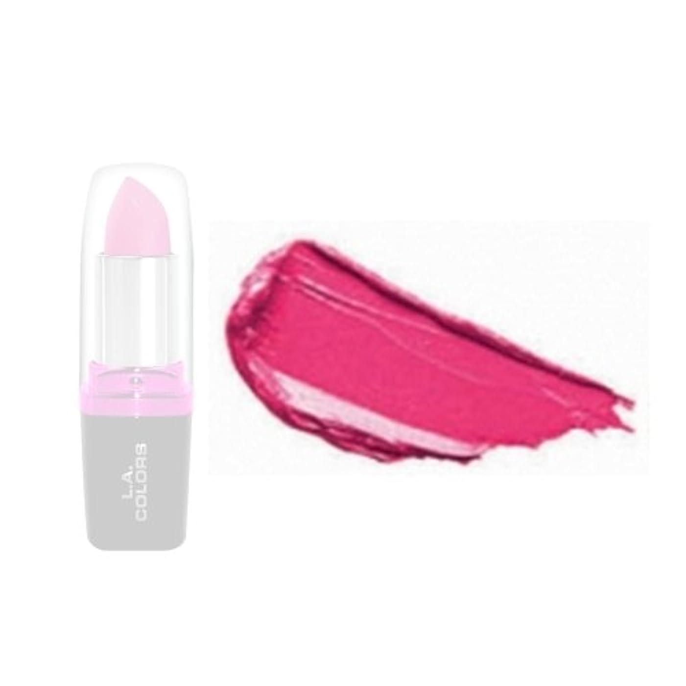 有毒従順リング(6 Pack) LA Colors Hydrating Lipstick - Peony (並行輸入品)