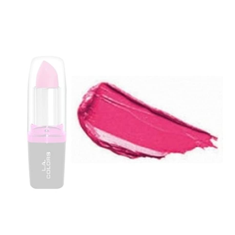 蓄積するティッシュ気づかない(3 Pack) LA Colors Hydrating Lipstick - Peony (並行輸入品)