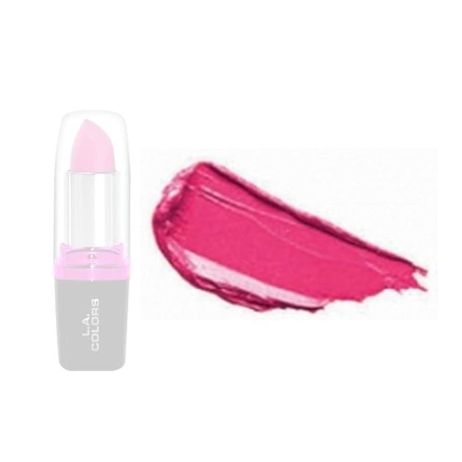カートンロゴ汚れた(6 Pack) LA Colors Hydrating Lipstick - Peony (並行輸入品)