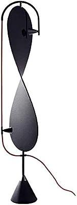 SYUTLJIA Style Moderne Lampadaire LED étude Chambre créative Salon de personnalité Lumineuse Verticale Nordique 0724LDD D225SLED