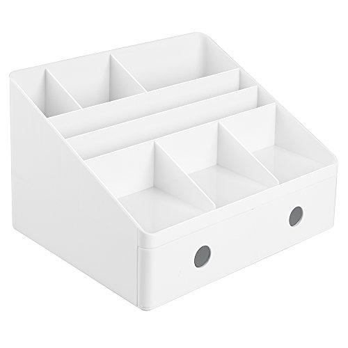 iDesign 42011EU Linus Schreibtisch Organizer mit Schubladen, weiß