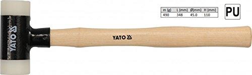 YATO Martelo borracha maleável 490 g