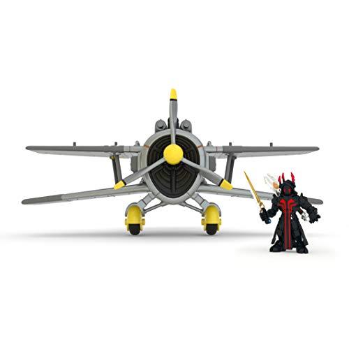 Fortnite 36487 Battle Royale Stormwing Plane Playset, Set Flugzeug X-4 Strormwing, Spielset mit exklusiver 5 cm Aktionfigur Ice King, Waffen und Ausrüstung, Aktionspielset für Fans ab 8+, Mehrfarbig