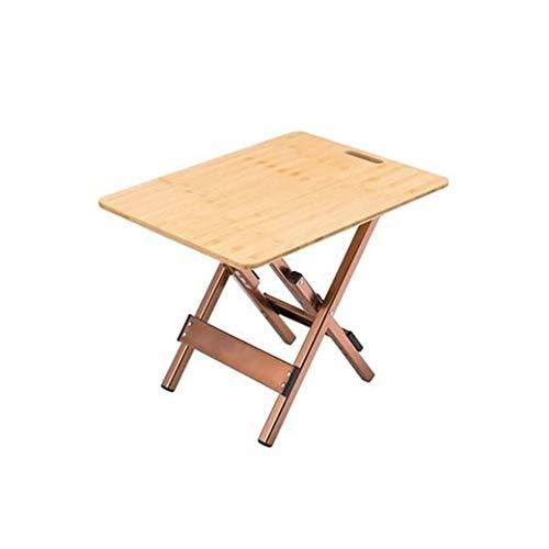 DongYuYuXuXi Outdoor Folding picknicktafel barbecue tafel aluminium klaptafel bijzettafel bamboe tafel camping draagbare tafel van massief hout