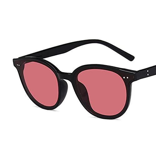 SXRAI Gafas de Sol ovaladas para Mujer, Gafas de Sol a la Moda para Hombre, Gafas para Mujer, Uv400,C4