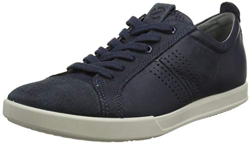 ECCO Collin 2.0, Sneaker Basses Homme, Bleu...