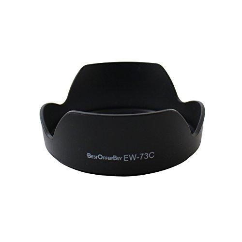 BestOfferBuy Paraluce di Ricambio per Obiettivi Canon EW-73C EF-S 10-18mm f 4.5-5.6 IS STM