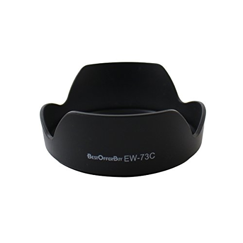BestOfferBuy Paraluce di Ricambio per Obiettivi Canon EW-73C EF-S 10-18mm f/4.5-5.6 IS STM