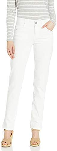 Democracy Women s Ab Solution Straight Leg Jean Optic White 14 product image