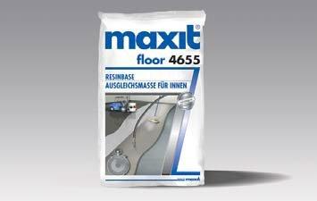 maxit floor 4655 ResinBase (weber.floor 4655) - Ausgleich für EP-Beschichtung, 25kg