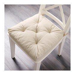Ikea Malinda Chair Cushion (1, Light beige)
