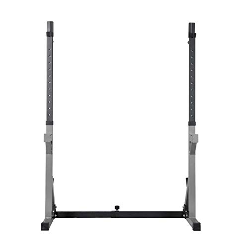 BuyHive Squat Rack Bench Press Weight Power Rack Dumbell Stand Workout Strength Training Barbell Rack