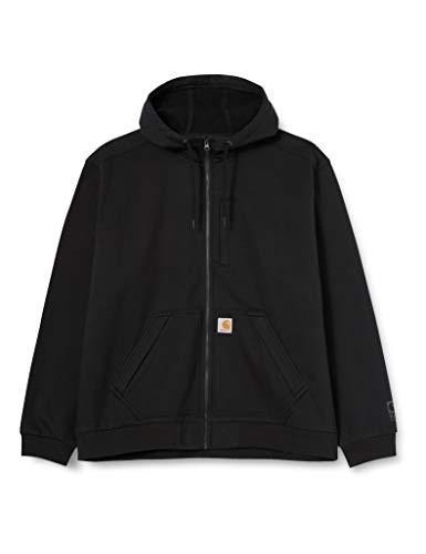 Carhartt Herren Wind Fighter Sweatshirt, Black, XXL