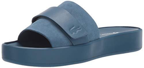Lacoste Women's PIRLE Sandal, Off White/Off White, 5 Medium US
