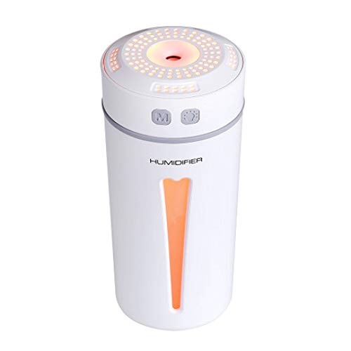 SUNHAO Humidificateur Happy Cup USB Aroma humidificateur veilleuse muet Voiture maiso