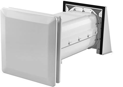 Stiebel Eltron 236659 - Ventilazione decentrata per abitazioni LWE 40 con recupero del calore, in alluminio, scambiatore di calore in alluminio, colore: Bianco