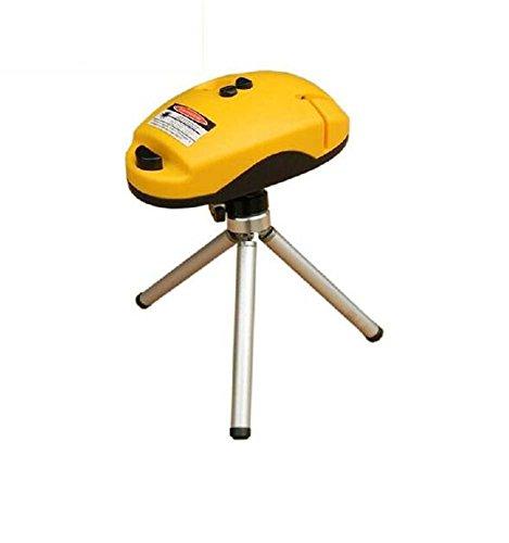 Infrarood laserniveau-indicator, 90 graden waterpas, decoratiegereedschap, gele vloerteller, muis, aanvulling van de kleurdoos