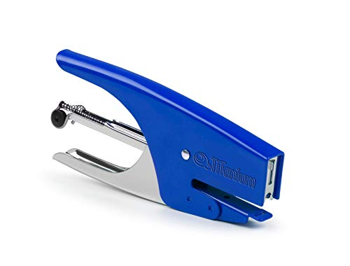 TITANIUM 72778 CUCITRICE A PINZA passo 6 - colore blu TiTanium
