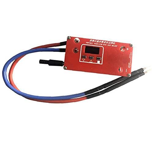 Mini Spot Soldder DIY Máquina de soldadura ABS Red Portable 18650 Batería Varias Soldadura Fuentes de alimentación Accesorios para Hardware