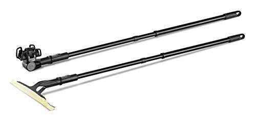 Kärcher Verlängerungsset (für alle Kärcher WV und KV 4, ausziehbar von 0,6 bis 1,5 Meter, Set mit 2 Teleskopstangen, mühelose Erreichbarkeit höher gelegener Fensterflächen)