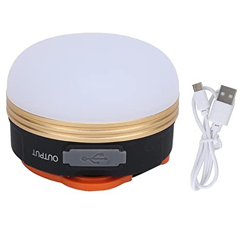 Les-Theresa Equipo de iluminación al aire libre recargable USB portátil ligero de la tienda para el aventurero
