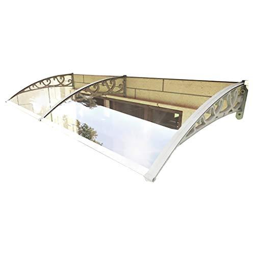 Lw luifels deur luifel luifel, PC polycarbonaat deur luifel luifel, voordeur veranda dak luifel regen luifel schaduw beschutting bescherming 60×240cm
