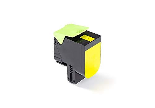 Green2Print Toner giallo 2300 pagine sostituisce Lexmark 71B0040, 71B20Y0 Toner per Lexmark CX317DN, CX417DE, CX517DE, CS317DN, CS417DN, CS517DE