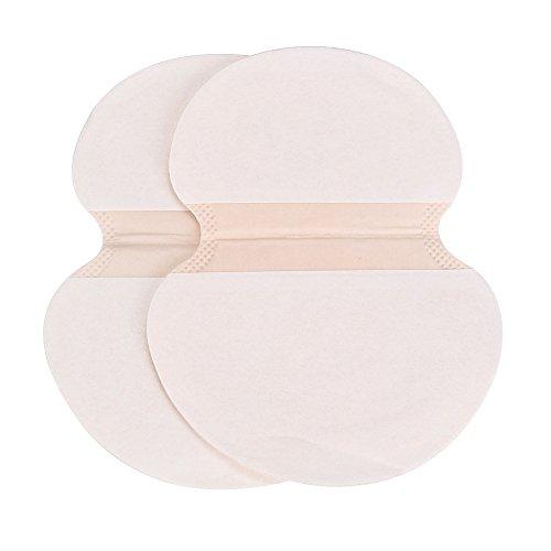 FiedFikt 30 almohadillas adhesivas para el sudor de las axilas, antitranspirante, desodorante para las axilas, almohadillas para el sudor y la axila.
