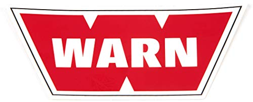 "WARN 98430 Service Kit - Silver Decal: 2"" x 4"