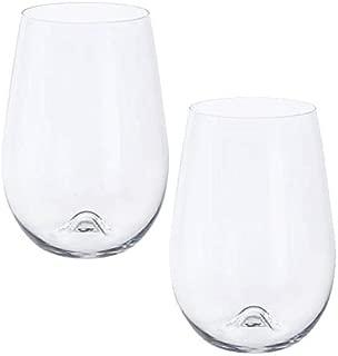 Dartington Crystal Stemless Wine Glasses - Set of 2