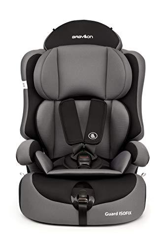 Babylon silla bebe coche isofix 1 2 3 Guard ISOFIX silla bebe coche para Niños 9-36 kg silla coche grupo 1 2 3 isofix, silla coche bebe ECE R44 / 04 g