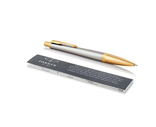 PARKER Urban Ballpoint Pen, Premium Aureate Powder with Medium Point Black Ink Refill (1975438)