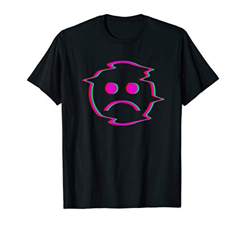 Sadboi Shirt - Sad Face Shirt - Glitch Effekt - Sadboy Shirt