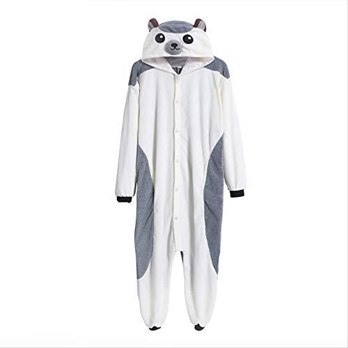 AYJMA Pijamas de Erizo Kigurumi Onesie Pijamas de Animales Unisex Pijama Adultos Cosplay Disfraz Ropa de Dormir Halloween XL Erizo Onesie