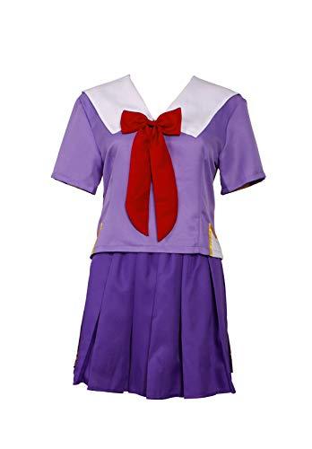 Mtxc Women's Future Diary Cospaly Yuno Gasai School Uniform Size Medium Purple