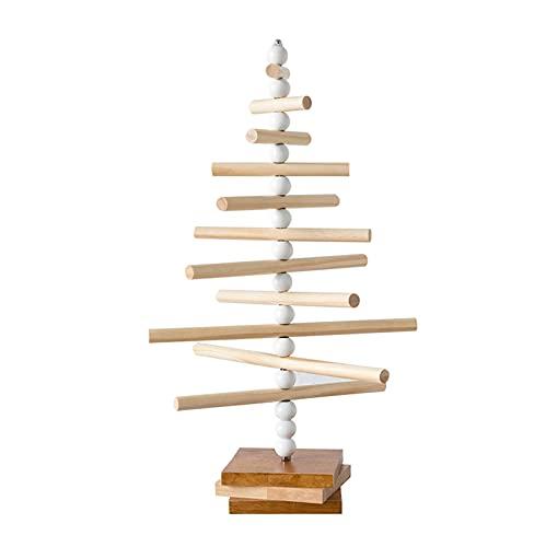 Organizador de joyas Joyería de madera maciza Rack Creativo Estilo nórdico en forma de árbol Collares Collares Pendientes Estante de joyería Adornos de exhibición, para vestidor y dormitorio Soporte d