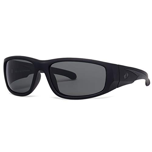 BNUS - Gafas de sol para hombre y mujer, lentes de cristal polarizados, a prueba de arañazos