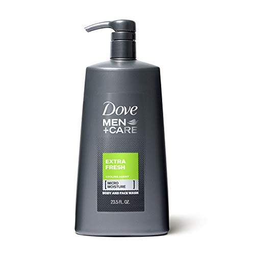 Dove Men+Care Body Wash with Pump, Extra Fresh 23.5 oz by Dove