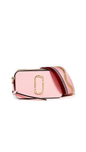 Marc Jacobs Borsa a tracolla The Snapshot rosa e rossa