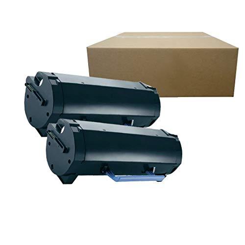 Inktoneram Compatible Toner Cartridges Replacement for Dell B2360d B2360dn B3460dn B3465dn B3465dnf [8,500 Pages] M11XH High Yield (Black, 2-Pack)