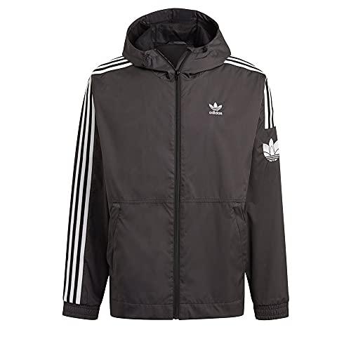adidas GN3551 3D WINDBRKR Jacket Mens Black XS