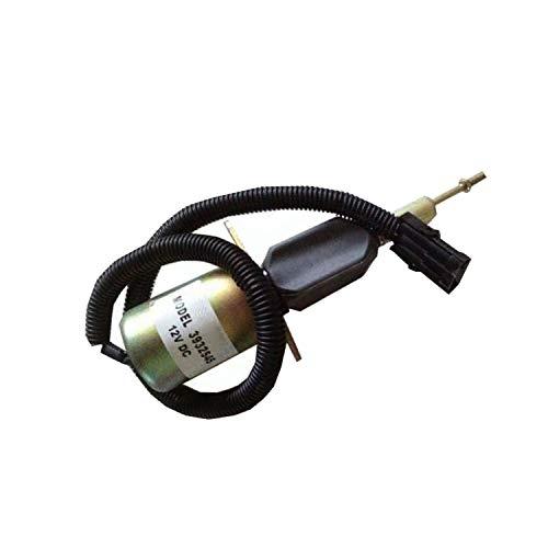 3932545 12V Kraftstoffabsperr-Magnetspule SA-4639-12 Diesel Abschaltventil für Cummins Ausrüstung