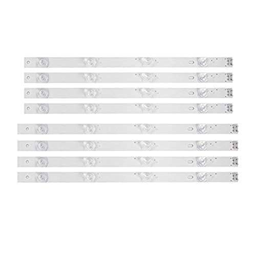 H/A Tira de Retroiluminación LED 4 Bombilla para LG de 42 Pulgadas TV 42GB6310 42LB5500 42LB550V 42LB561V 42LB570V 42LB585V 42LB5800 42LB580N 42LB5700 (8 PCS)